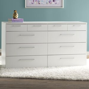 Shelby 10 Drawer Double Dresser by Zipcode Design