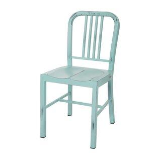 Vintage Metal Side Chair Set Of 2