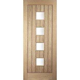 Manufactured Wood 4 Panels Unfinished Glazed Prehung External Door  sc 1 st  Wayfair & External Doors Front Doors \u0026 Composite Doors | Wayfair.co.uk
