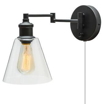 premium selection e54f8 eee97 Waucoba 1-Light Swing Arm Lamp & Reviews | AllModern