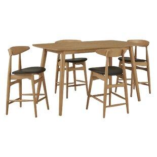 Caro 5 Piece Pub Table Set