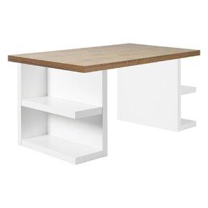 Schreibtisch Benjamin mit Bücherregal von Home ..
