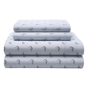 Marlin Stripe 180 Thread Count Sheet Set