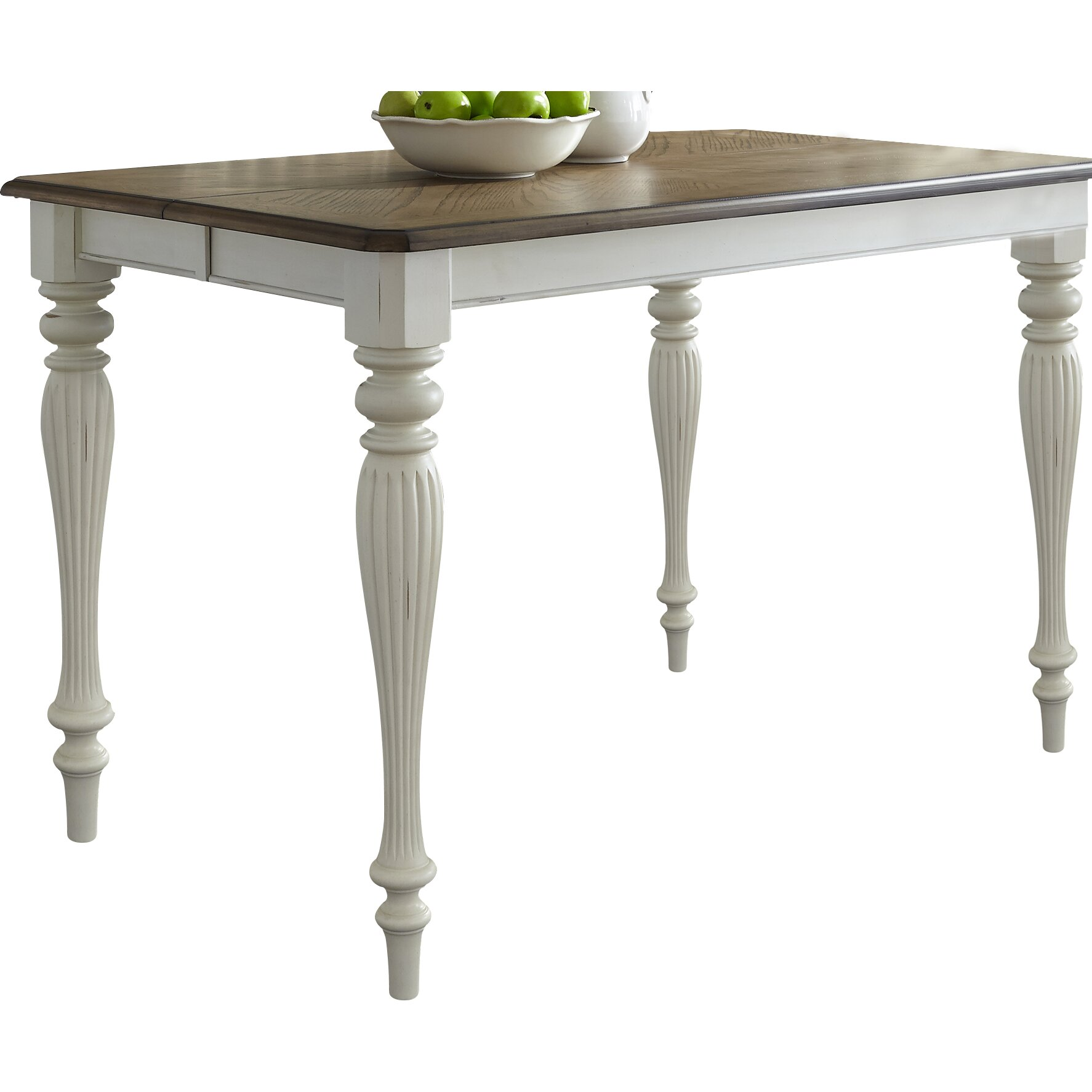 Lark manor cambrai gathering extendable dining table reviews - Enticing modern dining room tables enticing gathering space ...