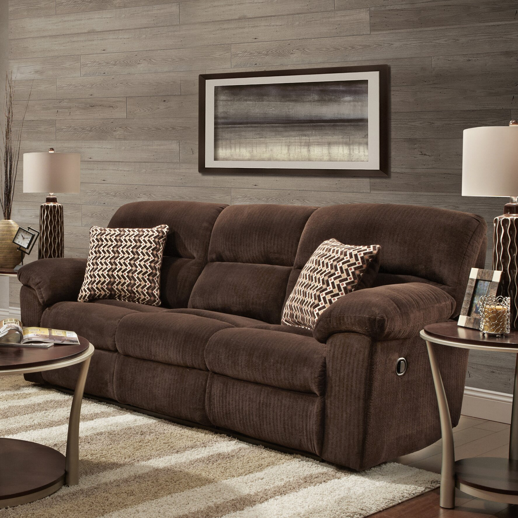 Red Barrel Studio Lisle Reclining Sofa And Loveseat Set