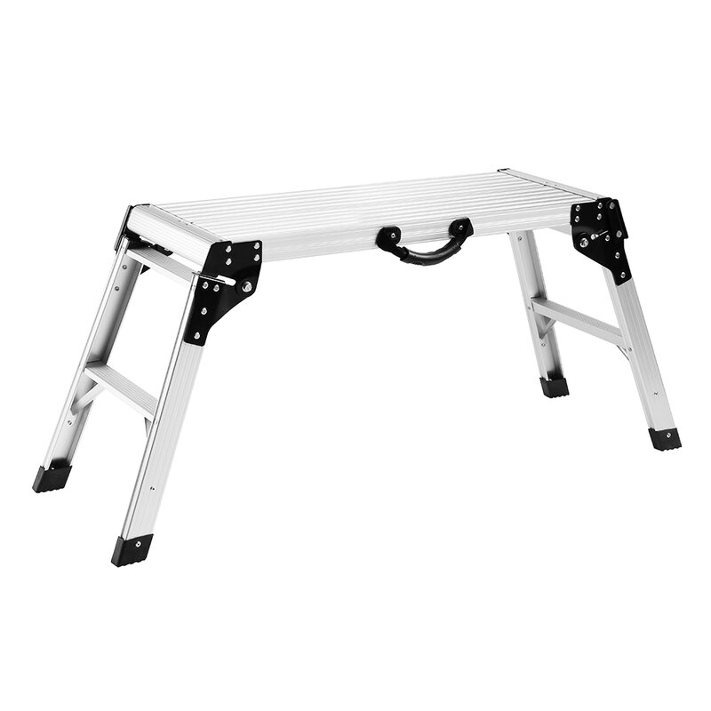 Swell Work Platform Drywall 2 Step Aluminum Step Stool With 300 Lb Load Capacity Inzonedesignstudio Interior Chair Design Inzonedesignstudiocom