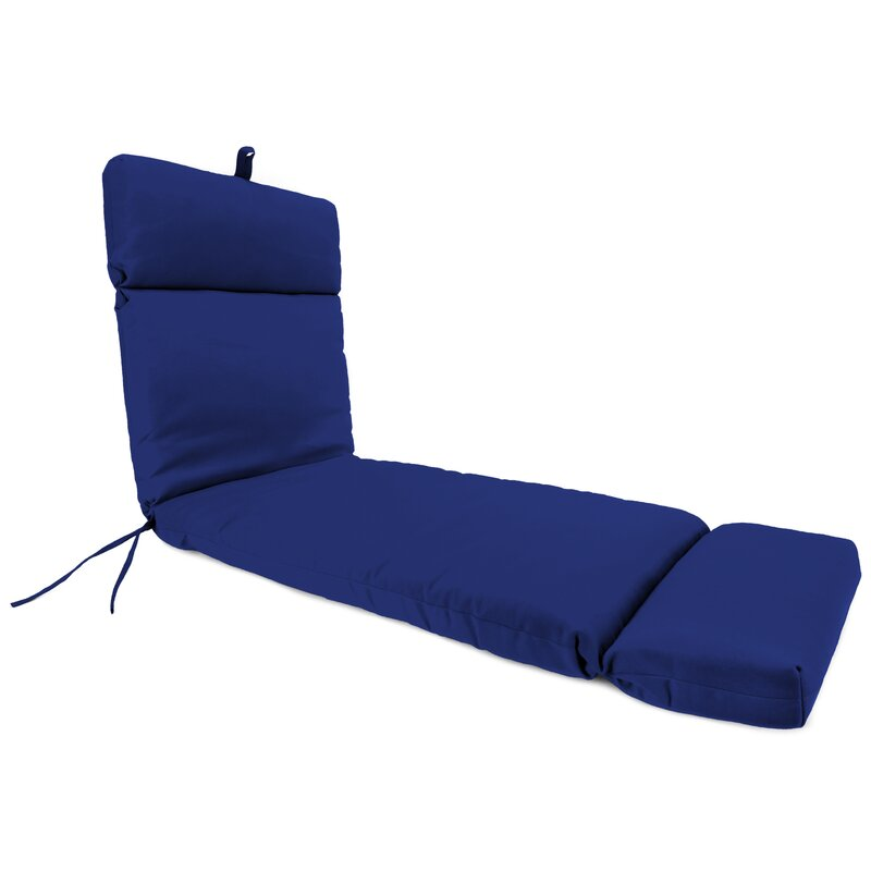 French Edge Indoor Outdoor Chaise Lounge Cushion