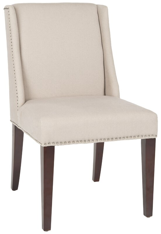 Safavieh Collier Solid Birch Upholstered Dining Chair ...