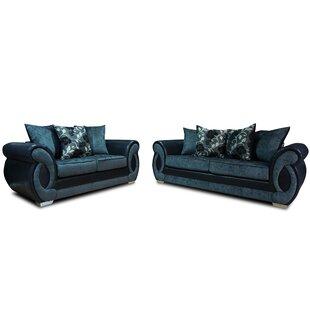 Chloe 2 Piece Sofa Set