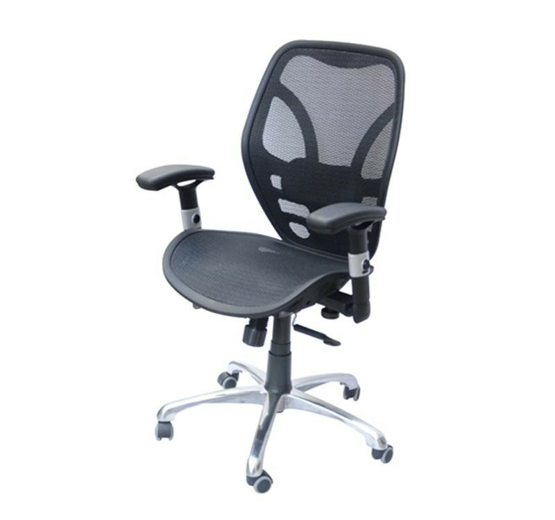 Homcom Deluxe Ergonomic High Back Mesh Desk Chair Reviews Wayfair