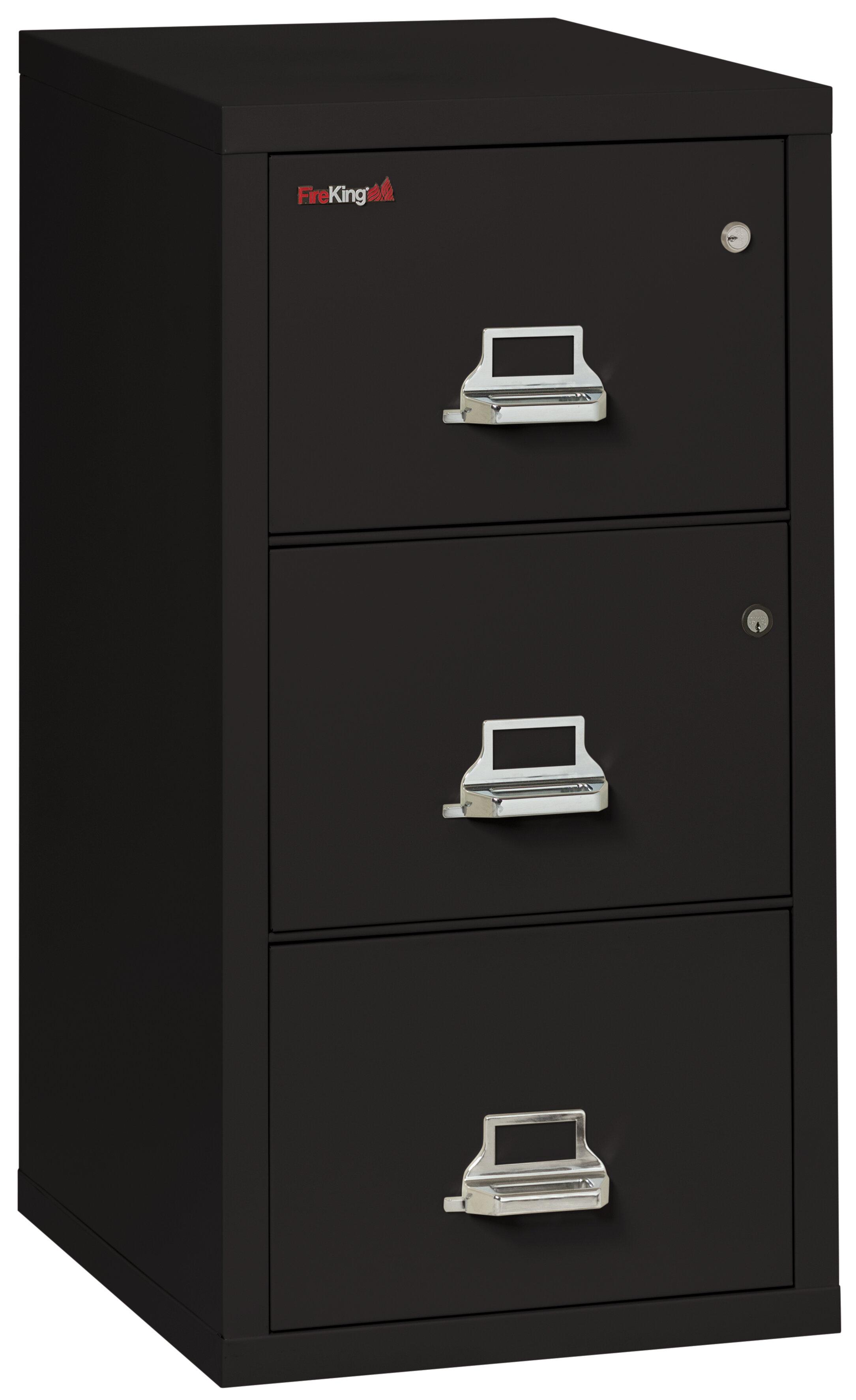Fireking Legal Safe In A File Fireproof 3 Drawer Vertical Cabinet Wayfair