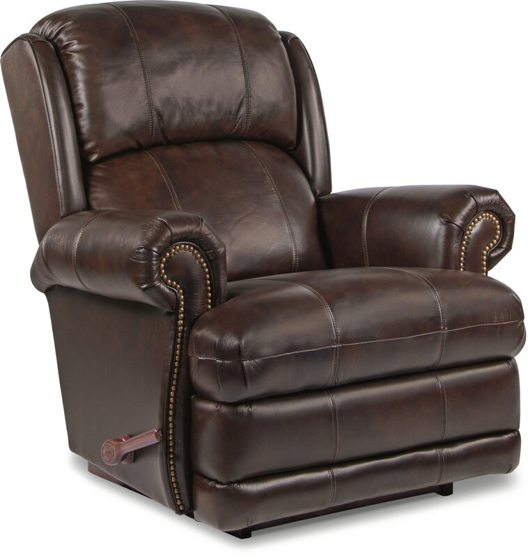 Kirkwood Leather Recliner  sc 1 st  Wayfair & La-Z-Boy Kirkwood Leather Recliner u0026 Reviews | Wayfair islam-shia.org