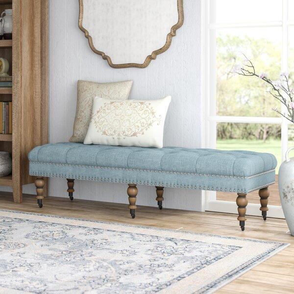 Upholstered Bedroom Sets Bedroom Window Bench Bedroom Hanging Cabinet Main Bedroom Colours Ideas: Ambrine Upholstered Bench & Reviews