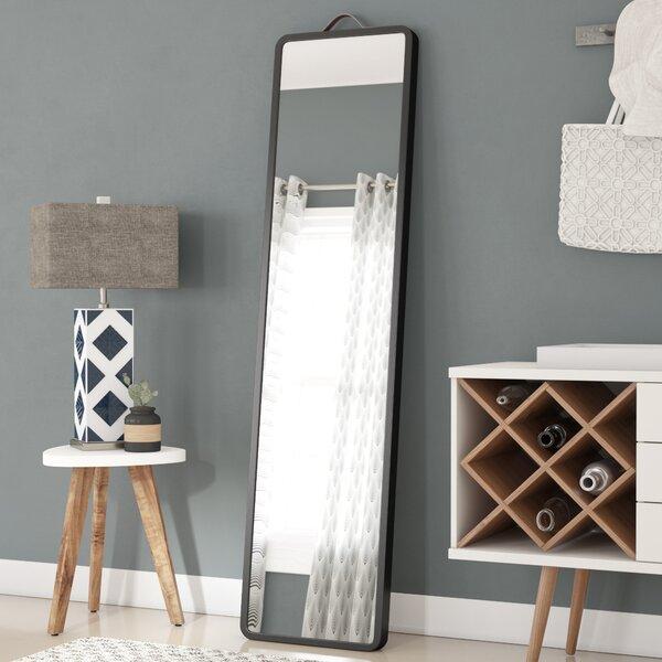 Latitude Run Modern Floor Leaning Full Length Mirror