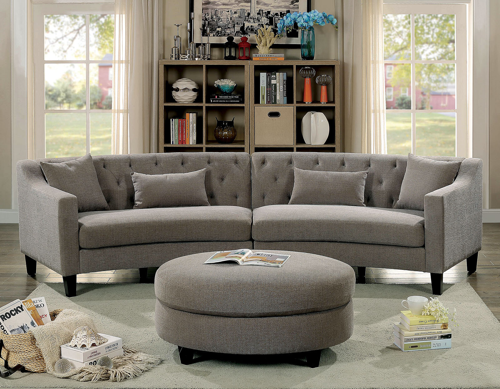 Latitude Run Moe Sectional Wayfair