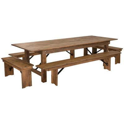 Dining Table With Bench Kitchen Amp Dining Room Sets You Ll