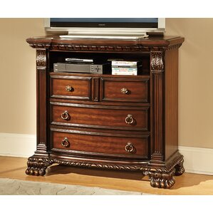 Orleans 4 Drawer Media Chest by Woodhaven Hill