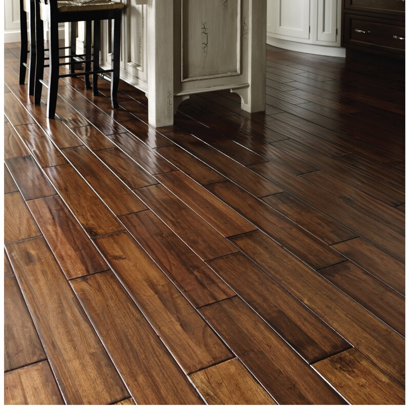 "Easoon USA 5"" Engineered Manchurian Walnut Hardwood"