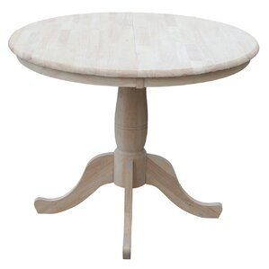 Overbay Pedestal 30 Extendable Dining Table
