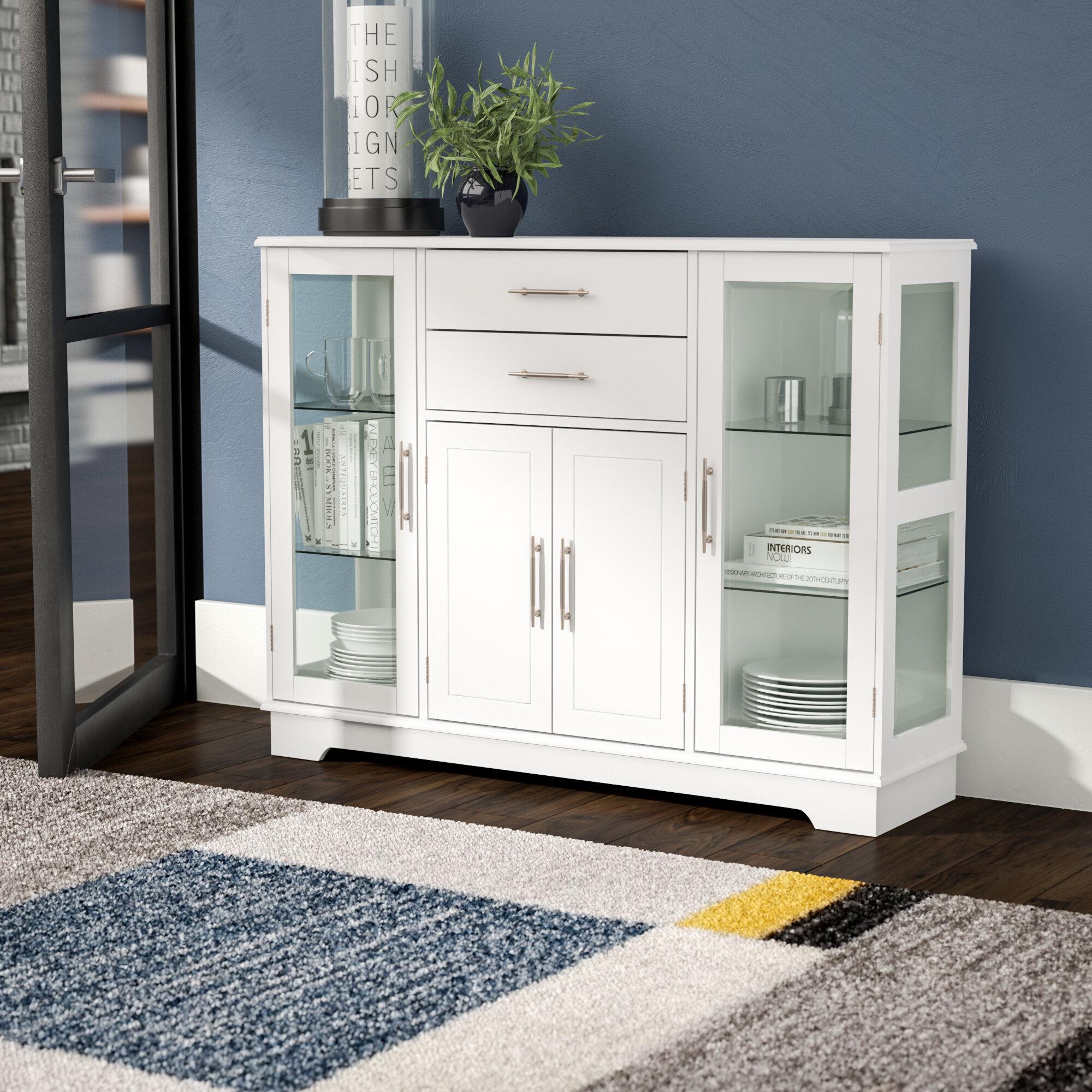 Terrific Dufferin 4 Door Accent Cabinet Home Interior And Landscaping Ferensignezvosmurscom