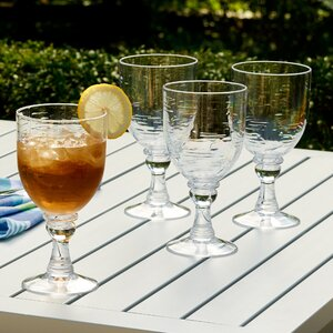 Cecilio Plastic All Purpose Glass Set (Set of 6)