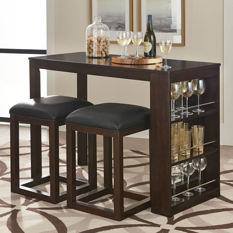 Darby Home Co Newmont Counter Height Dining Table Reviews Wayfair