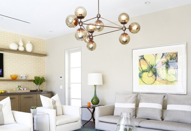 10 modern chandeliers that shine bright - Contemporary Chandeliers For Living Room