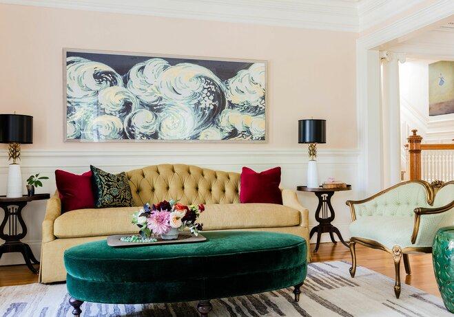 Artwork Living Room Design Kmid