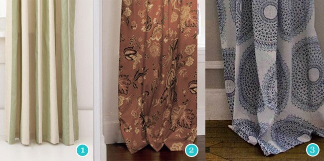 Curtains Ideas 120 inch length curtains : Curtain Style Guide | Wayfair