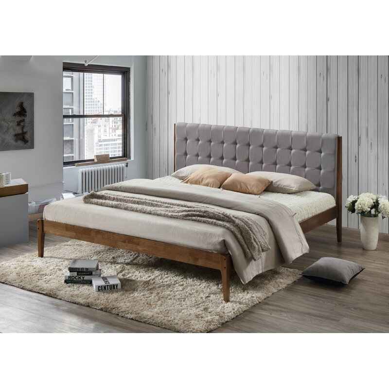 Bricker Wood Platform Bed