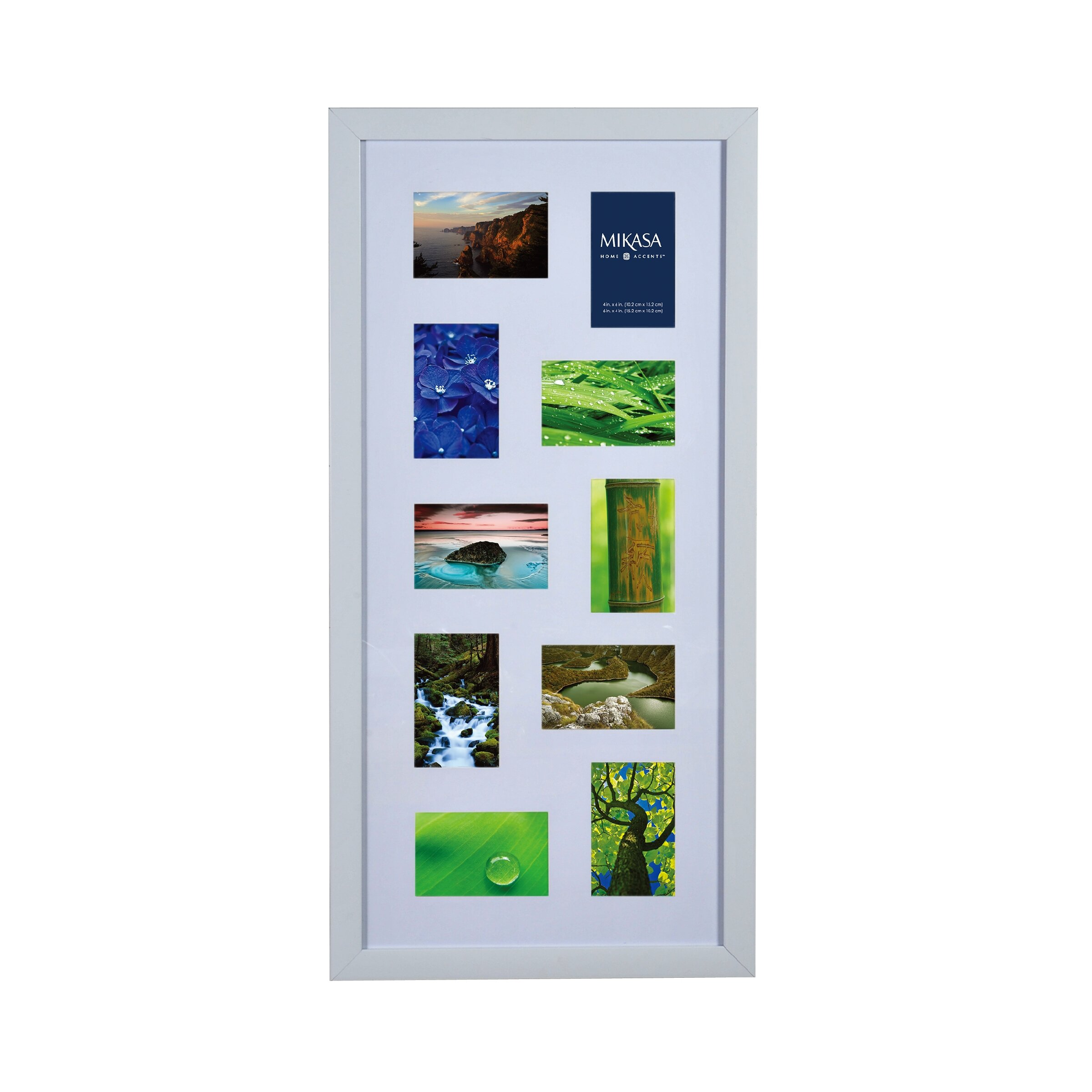 Mikasa 10 opening collage picture frame reviews wayfair jeuxipadfo Image collections