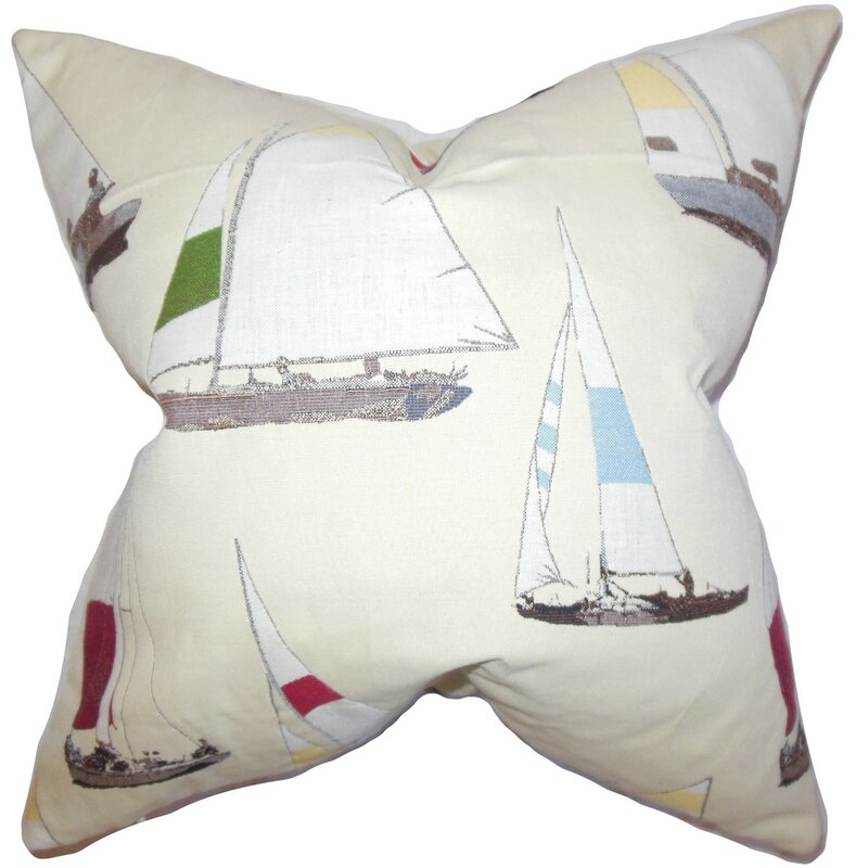 Sami Coastal Throw Pillow Cover Birch Lane Impressive Coastal Throw Pillow Covers