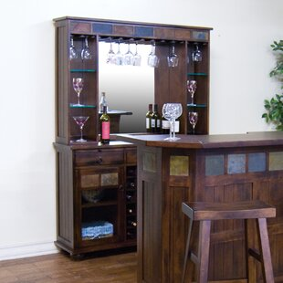 Fresno Bar with Wine Storage