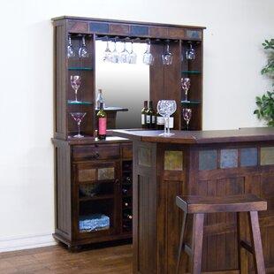 Fresno Bar with Wine Storage