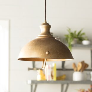 Hammered metal pendant light wayfair save aloadofball Gallery