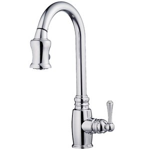 Opulence Single Handle Deck Mounted Kitchen Faucet