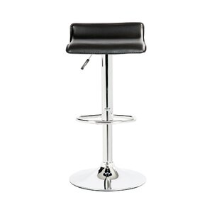 Castille Adjustable Height Swivel Bar Stool (Set of 2) by Wade Logan