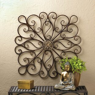 Bronze Iron Wall Décor