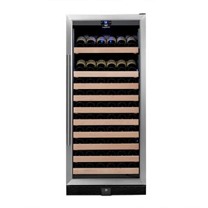 98 Bottle Single Zone Convertible Wine Cooler by Kingsbottle