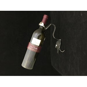 1 Bottle Tabletop Wine Rack by Forked Up Art