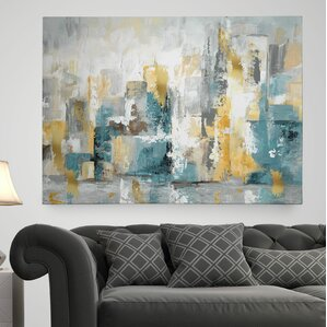 U0027City Views Iu0027 Painting Print On Wrapped Canvas. U0027 Part 80