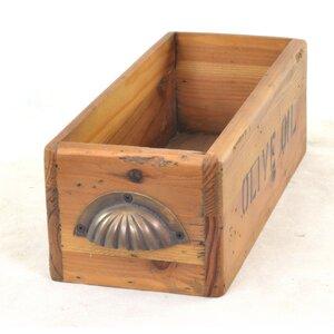 Aufbewahrungsbox Vintage Olive Oil von Hokku Designs