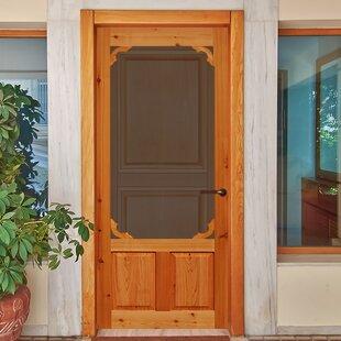 Cedar Exterior Door