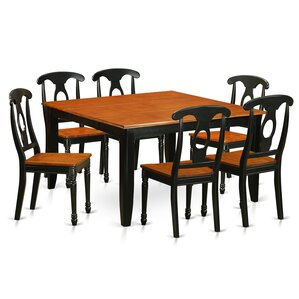 Parfait 7 Piece Dining Set by East West Furniture