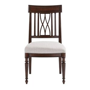 Lucca Solid Wood Dining Chair by Stanley Furniture