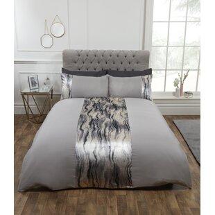 Silver Glitter Bedding | Wayfair co uk
