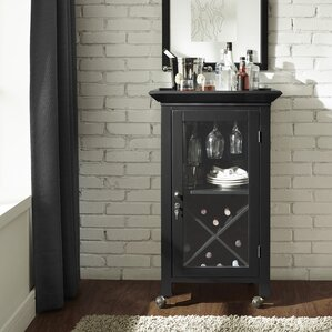 Wall Mounted Bar Cabinet | Wayfair