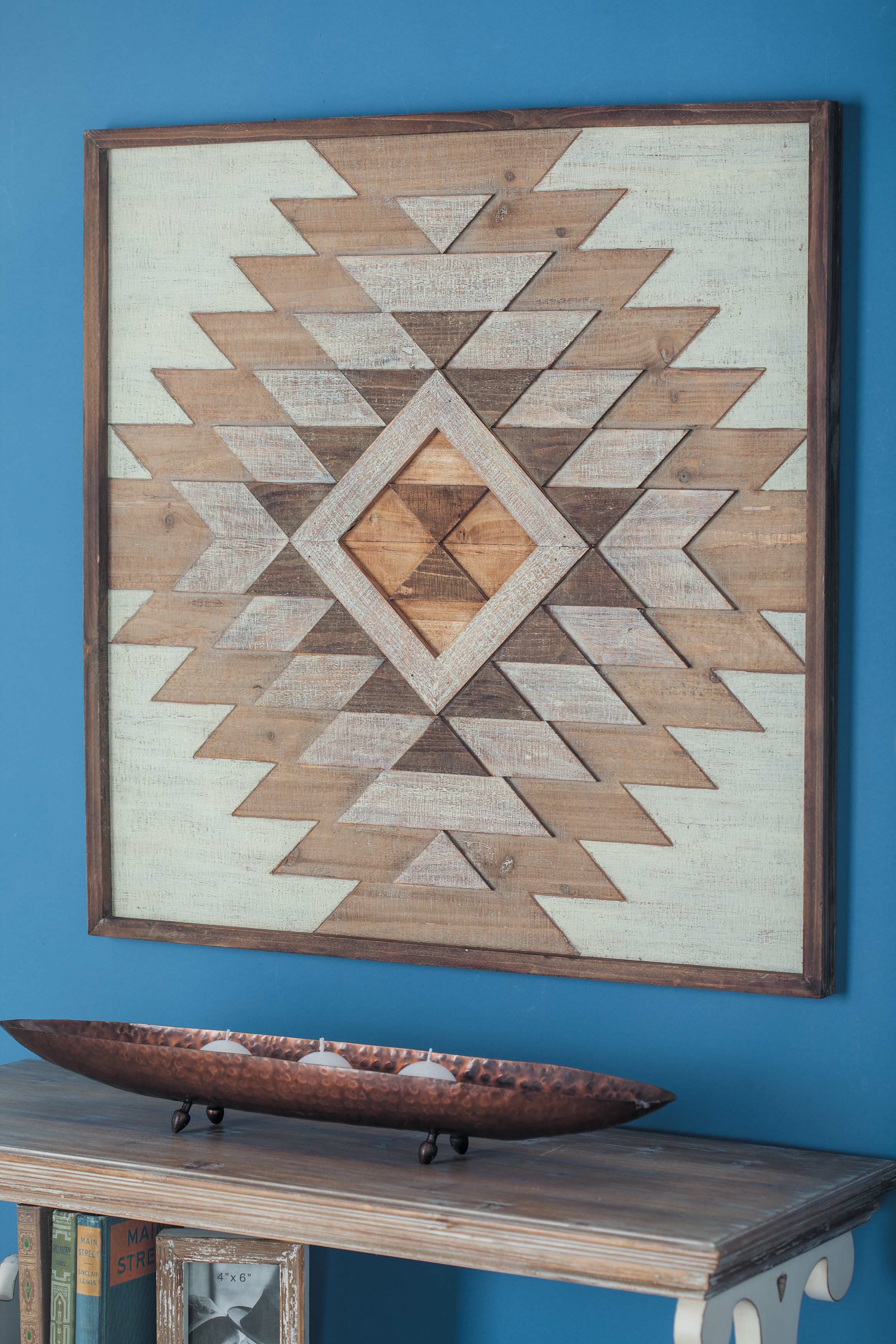 Wood Plaque Wall Decor
