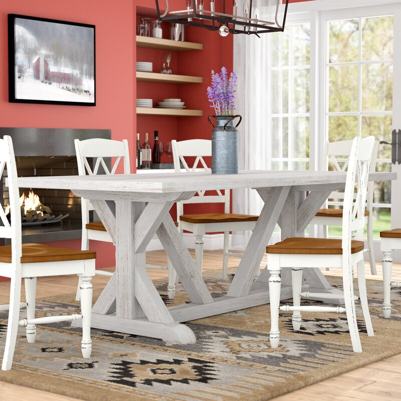 84 dining table henley medders dining table 84 laurel foundry modern farmhouse