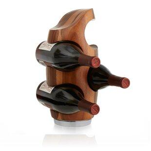 Vie 4 Bottle Tabletop Wine Rack